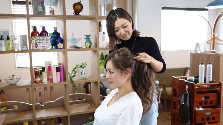 富士市Hair Salon Hau'oli(ハウオリ)